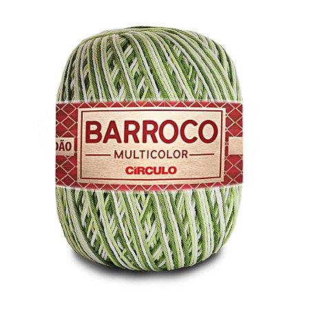 Barbante Barroco Multicolor 6 Fios 400g Cor 9391