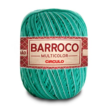 Barbante Barroco Multicolor 6 Fios 400g Cor 9440