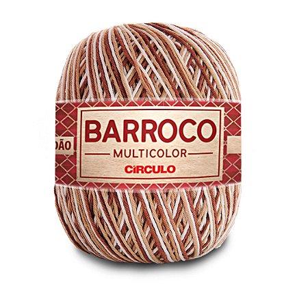 Barbante Barroco Multicolor 6 Fios 400g Cor 9687