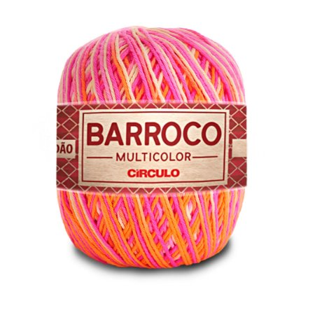 Barbante Barroco Multicolor 6 Fios 400g Cor 9839