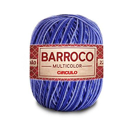 Barbante Barroco Multicolor 6 Fios 200g Cor 9172