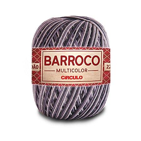 Barbante Barroco Multicolor 6 Fios 200g Cor 9255