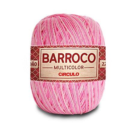 Barbante Barroco Multicolor 6 Fios 200g Cor 9284