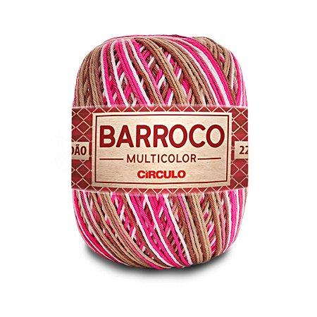 Barbante Barroco Multicolor 6 Fios 200g Cor 9306