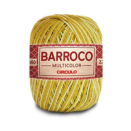 Barbante Barroco Multicolor 6 Fios 200g Cor 9385
