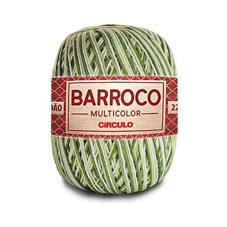 Barbante Barroco Multicolor 6 Fios 200g Cor 9391