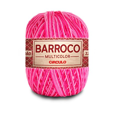 Barbante Barroco Multicolor 6 Fios 200g Cor 9427