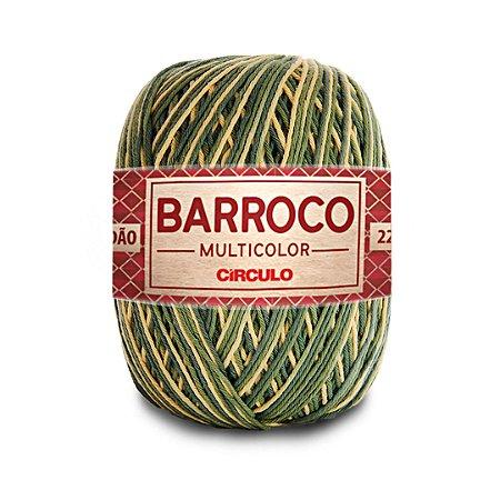 Barbante Barroco Multicolor 6 Fios 200g Cor 9519