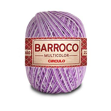 Barbante Barroco Multicolor 6 Fios 200g Cor 9587