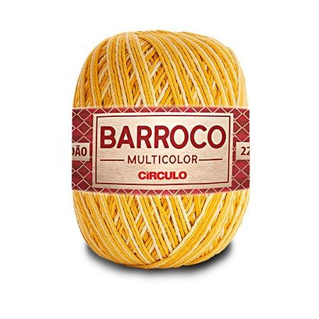 Barbante Barroco Multicolor 6 Fios 200g Cor 9621