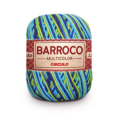 Barbante Barroco Multicolor 6 Fios 200g Cor 9894