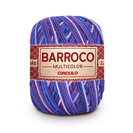 Barbante Barroco Multicolor 6 Fios 200g Cor 9897