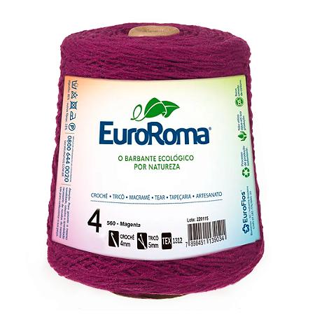 Barbante Euroroma Colorido 4 Fios 600g Cor 560