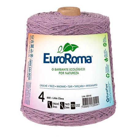 Barbante Euroroma Colorido 4 Fios 600g Cor 600