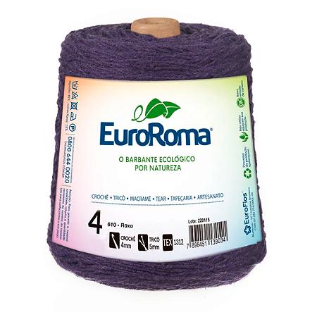 Barbante Euroroma Colorido 4 Fios 600g Cor 610