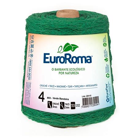 Barbante Euroroma Colorido 4 Fios 600g Cor 803