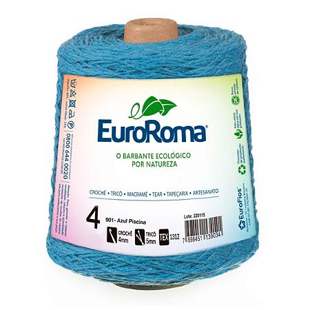 Barbante Euroroma Colorido 4 Fios 600g Cor 901