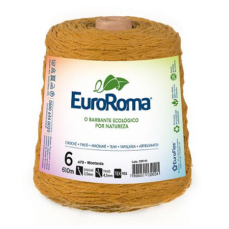 Barbante Euroroma Colorido 6 Fios 600g Cor 470