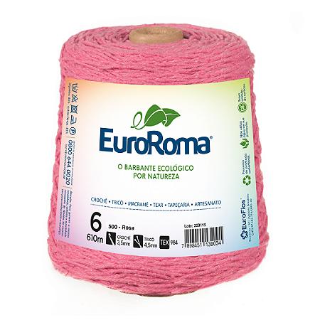 Barbante Euroroma Colorido 6 Fios 600g Cor 500