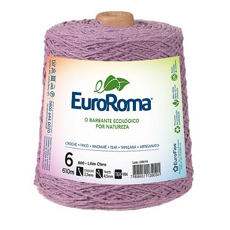 Barbante Euroroma Colorido 6 Fios 600g Cor 600
