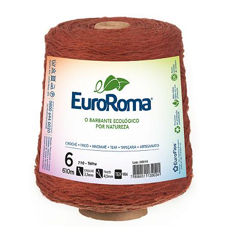 Barbante Euroroma Colorido 6 Fios 600g Cor 710