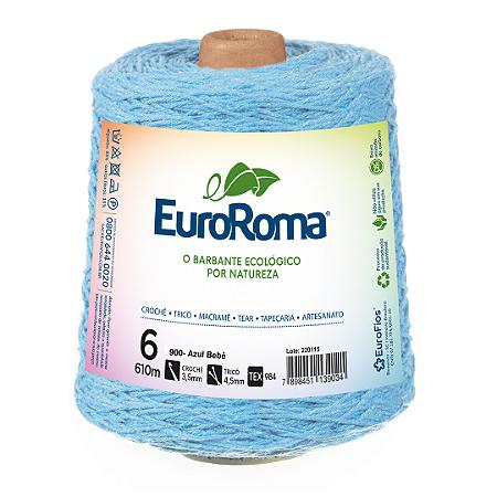 Barbante Euroroma Colorido 6 Fios 600g Cor 900