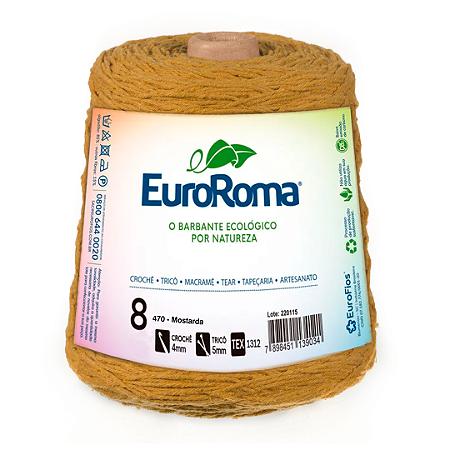 Barbante Euroroma Colorido 8 Fios 600g Cor 470