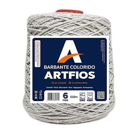 Barbante Artfios 6 Fios 600g Cor Areia