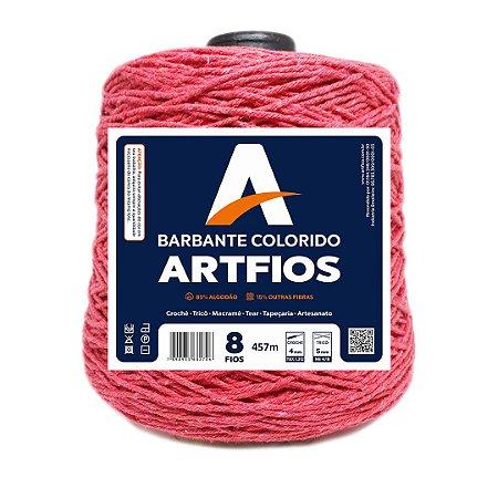 Barbante Artfios 8 Fios 600g Cor Goiaba