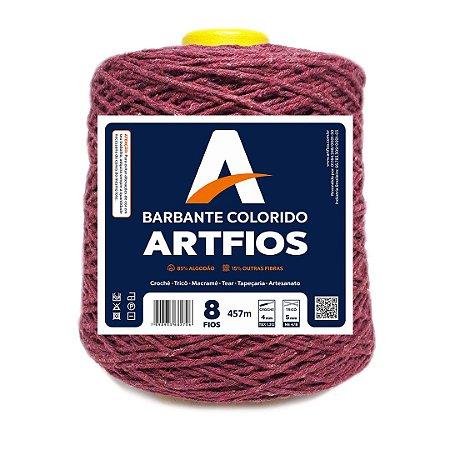Barbante Artfios 8 Fios 600g Cor Beterraba