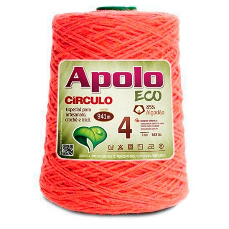 Barbante Apolo Eco 4 Fios 600g Cor 4445