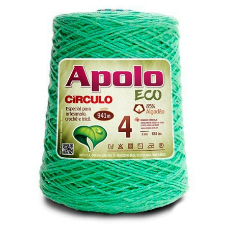 Barbante Apolo Eco 4 Fios 600g Cor 5086