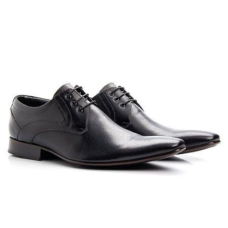 Sapato social Oxford masculino em couro