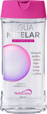 Água Micellar com Extrato de Açaí 200ml - Natucare