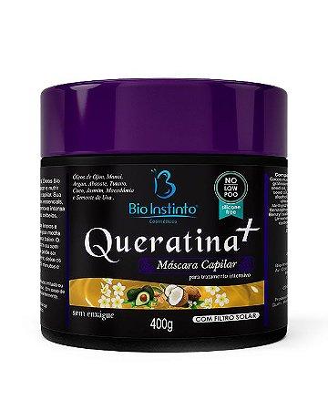 Máscara Capilar Queratina+ 400g - BioInstinto Cosméticos