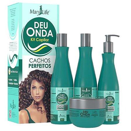 Kit Capilar Deu Onda Cachos Perfeitos - Mary Life