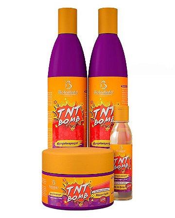 Kit Capilar TNT Bomb - Bioinstinto Cosméticos