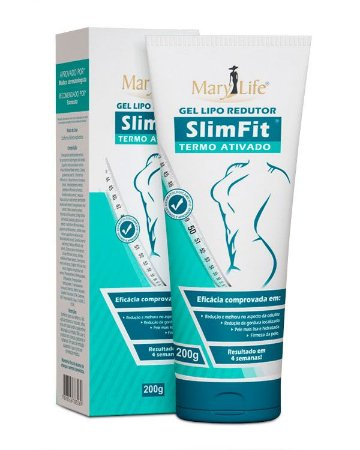 Gel Redutor SlimFit 200ml - Mary Life