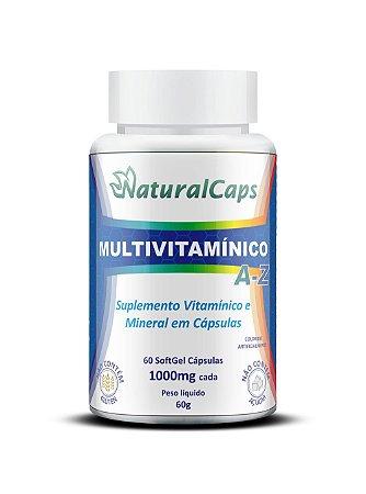 Multivitamínico A-Z 60 cápsulas - NaturalCaps