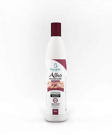 Shampoo Alho Desodorizado 400ml - BioInstinto Cosméticos