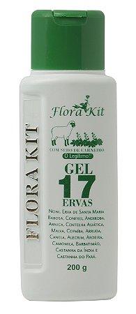 FloraKit Gel 17 Ervas - BioInstinto Cosméticos