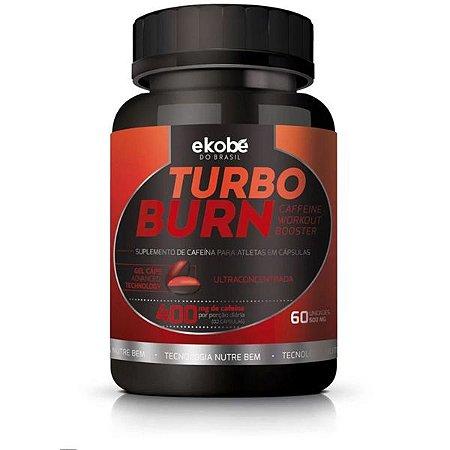 Turbo Burn Suplemento Energético Cafeína 60 Cápsulas - Ekobé
