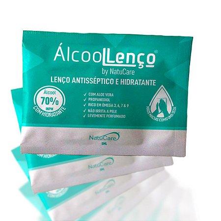 Lenço Antisséptico hidratante AlcooLLenço by NatuCare