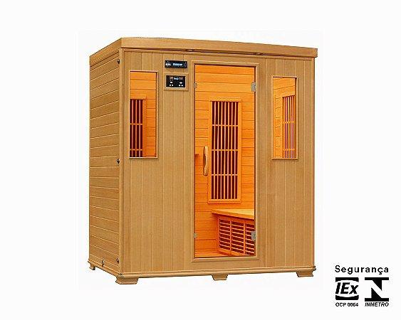 Sauna Seca para 6 pessoas 175x150x190 cm
