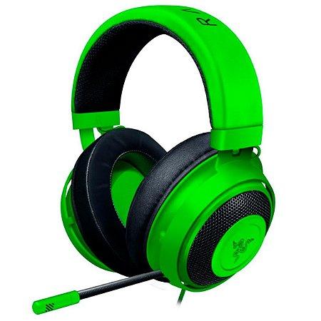 Headset Gamer Razer Kraken Multi Platform P2 Green
