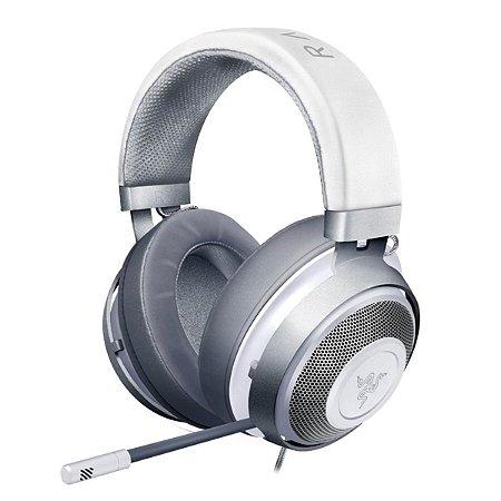 Headset Gamer Razer Kraken Multi Platform P2 Mercury White