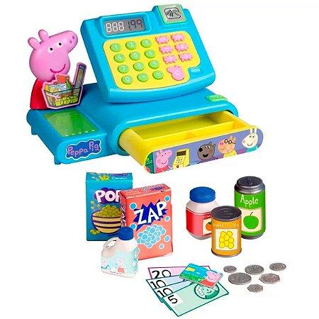 Caixa Registradora Infantil Peppa Pig Multikids BR1213