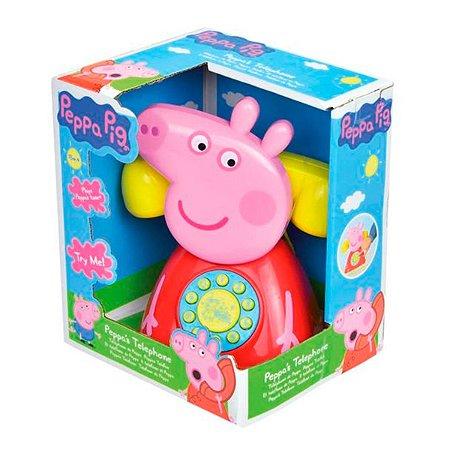 Brinquedo Telefone Peppa Pig Porquinha Multikids BR1318