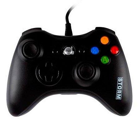 Controle Dazz Storm Dualshock Xbox 360/PC - 624518