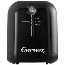 Estabilizador enermax exxa power t 300va 115v monovolt